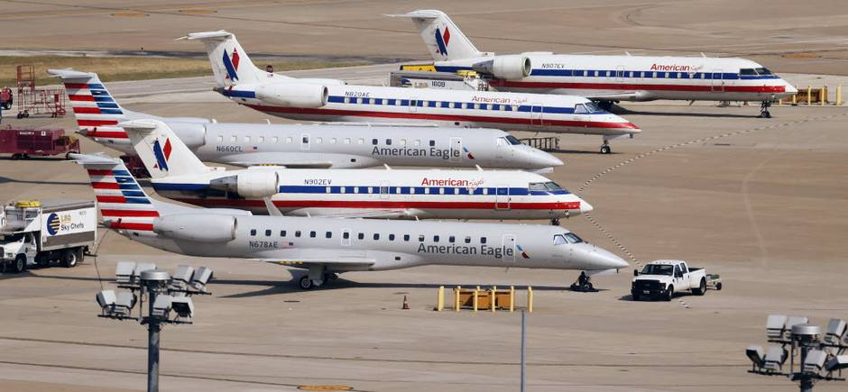 American Airlines Increases Regional Pilot Pay - San Diego